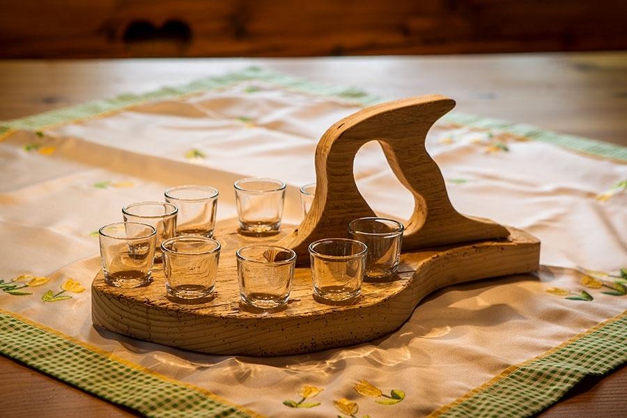 Schnapshobel (9 Gläser)