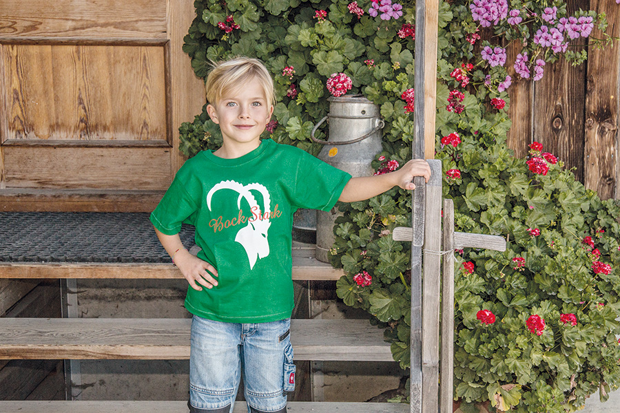 AllgäuBock Kinder Grün