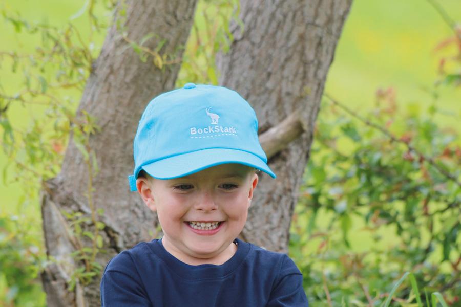 Cap BockStark Kinder Blau / Silber